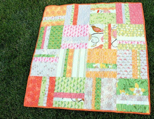 image of Ucreate Easy Strip Block quilt