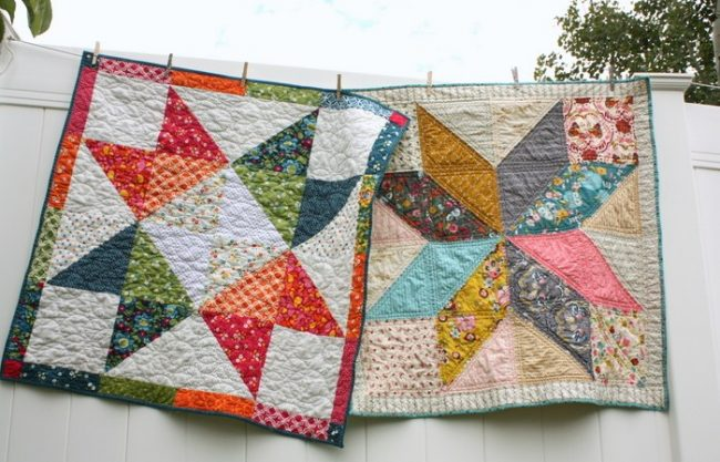 image of star-baby-quilt-tutorials