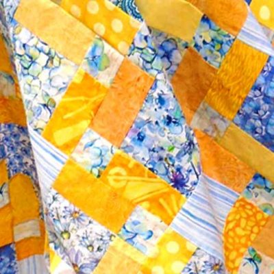 How to Quilt with Charm Squares