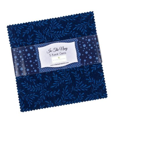 "image of 'In the Navy"" Charm Squares"