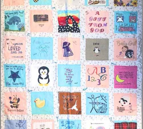 How to Make A Baby Memory Quilt