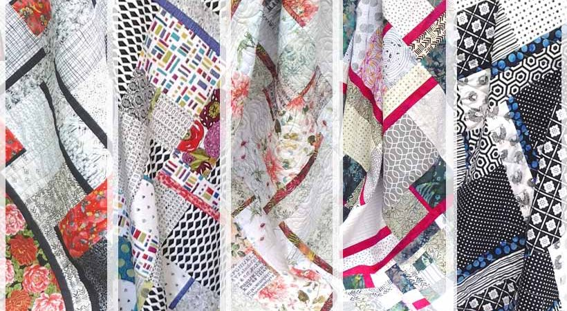 Easy Modern Fat Quarter Quilting with Batiks