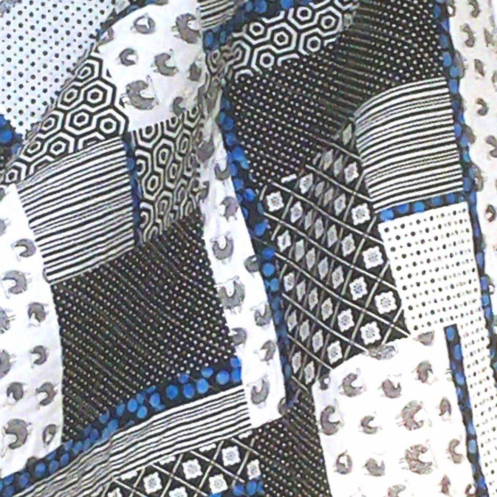 image of Modern Batik Fat Quarter Baby Quilt Pattern