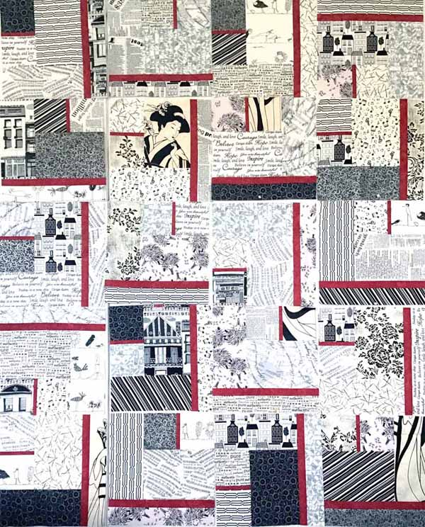 image of ABI Modern Fat Quarter Quilt by Anieta