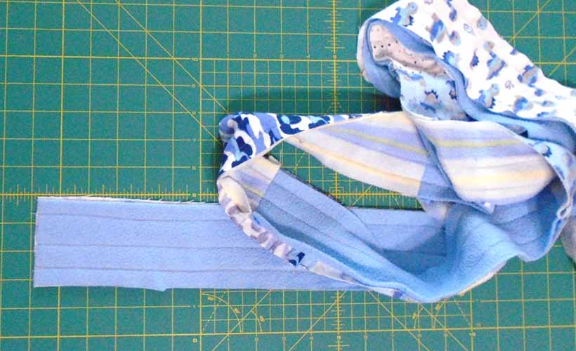 image of How to add a rag quilt border