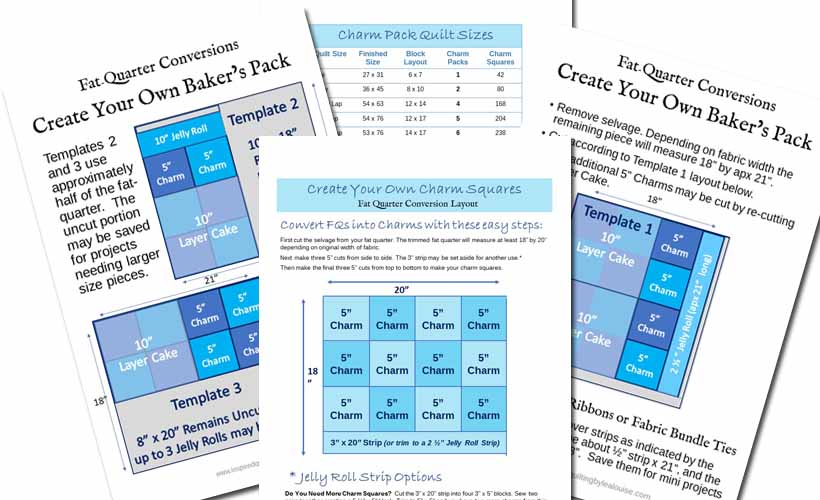 Image of FQ Conversion Template PDFs