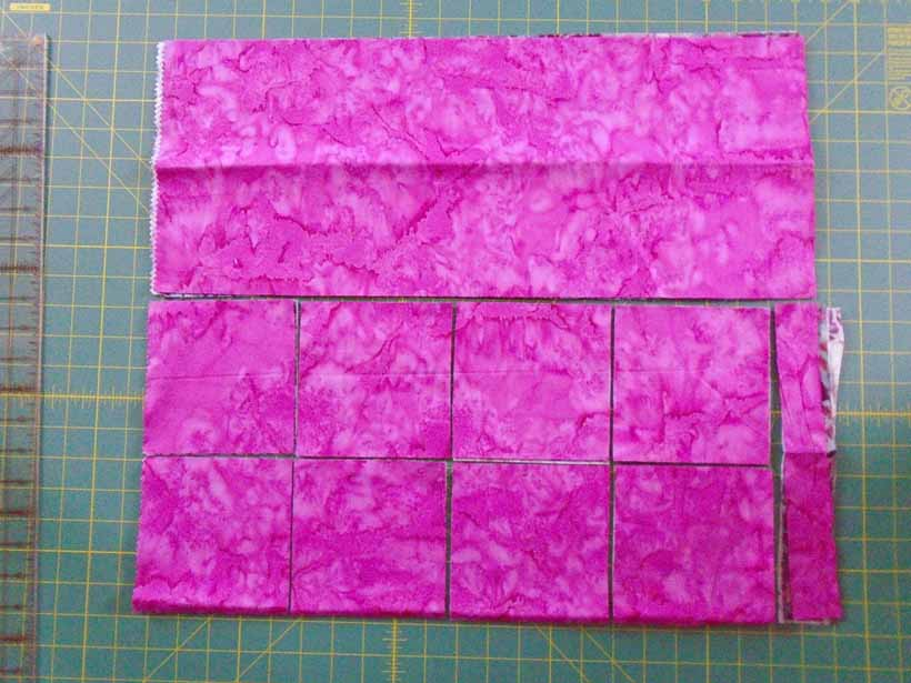 image how to cut a fat quarter for quilting
