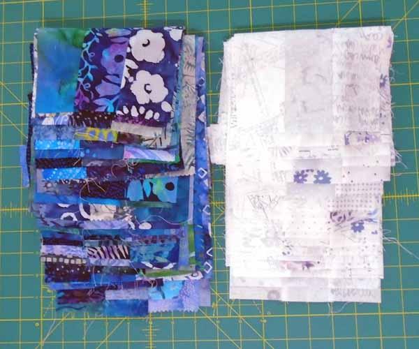 image of batik fat quarter strip sets