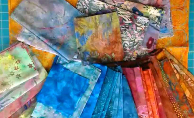 Batik Fat Quarter Fabric