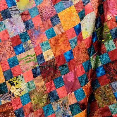 Batik Fat Quarter Quilt