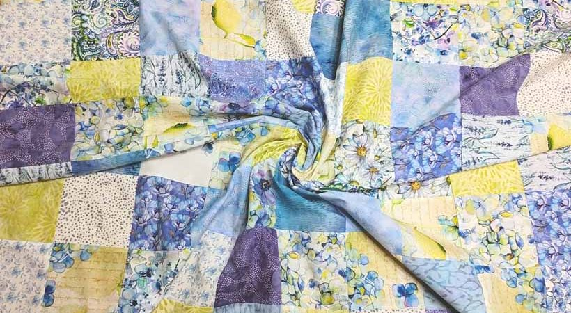 Quick Charm Pack Baby Quilt